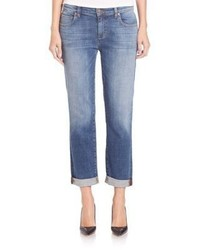 Eileen Fisher Stretch Organic Cotton Boyfriend Jeans
