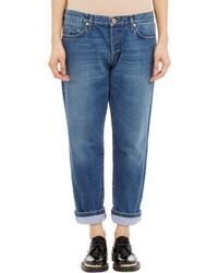 Marni Stripe Cuff Boyfriend Jeans