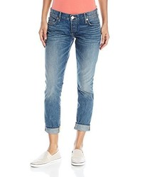 True Religion Liv Rolled Boyfriend Jean Z