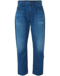 Victoria Beckham Denim Cropped Boyfriend Jeans