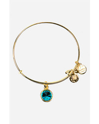 Birthstone expandable wire bangle medium 217846