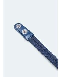 Mango Outlet Braided Bracelet