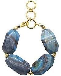 jcpenney Fine Jewelry Paloma Ellie Blue Agate Statet Bracelet