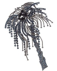 Sonia Rykiel Crystal Embellished Palm Tree Brooch