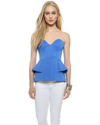 Blue bustier top original 9719886