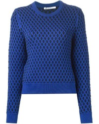 Alexander Wang T By Contrasting Cable Knit
