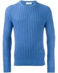 AMI Alexandre Mattiussi Cable Knit Sweater
