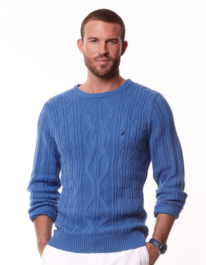 Nautica Engineered Cable Sweater   Where to buy & how to wear