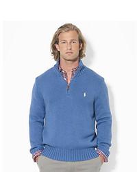 Polo Ralph Lauren Half Zip Mockneck Sweater