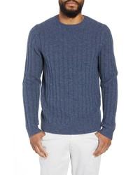 Calibrate Rib Crewneck Sweater