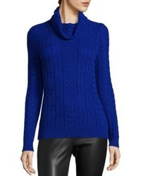 Saks Fifth Avenue Collection Cashmere Cable Knit Stitch Sweater