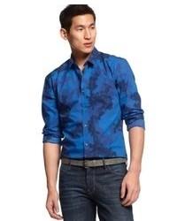 Hugo Boss Hugo Camo Long Sleeve Shirt