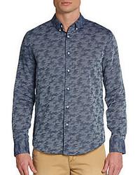 Slate & Stone Grant Camo Sportshirt