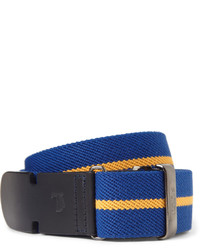 Blue Canvas Belt