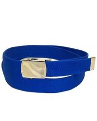 Private Island Royal Blue Canvas Adjustable Belt