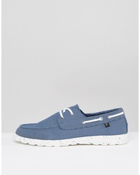 Farah Clegg Canvas Boat Shoes In lpySZ