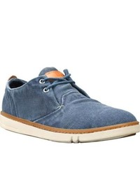Timberland Earthkeepers Hookset Handcrafted Fabric Ox Blue Canvas Canvas Shoes