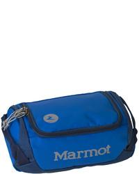 Blue Canvas Duffle Bag