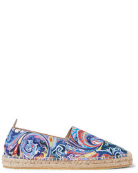 Painted paisley canvas espadrilles medium 1245567
