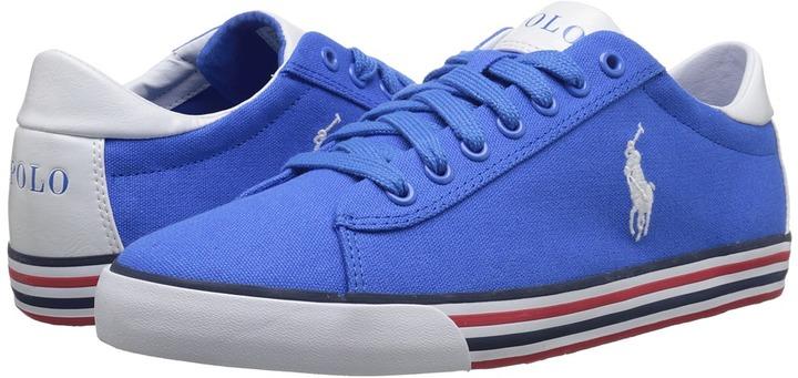 ... Canvas Low Top Sneakers Polo Ralph Lauren Harvey ...