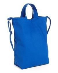 Blue Canvas Tote Bag