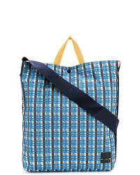 Checked design tote bag medium 7865591