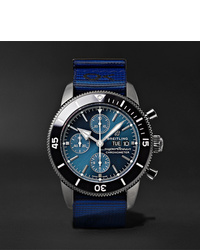 Breitling Outerknown Superocean Heritage Chronometer 44mm Dlc Coated Stainless Steel And Nato Watch