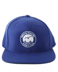 Blue & Cream Bluecream Montauk Snapback