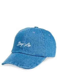 Topshop Boys Lie Denim Baseball Cap Blue