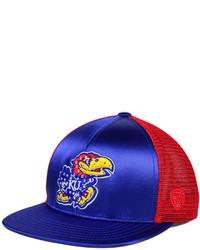 Top of the World Kansas Jayhawks Big Faux Satin Snapback Cap