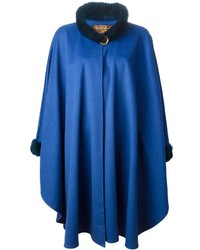 Blue Cape Coat