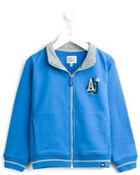 Armani Junior Zipped Up Cardigan