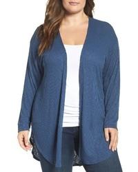 Plus size ribbed cardigan medium 1249473