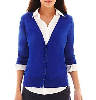 jcpenney Worthington Long Sleeve Cardigan Sweater | Where to buy ...