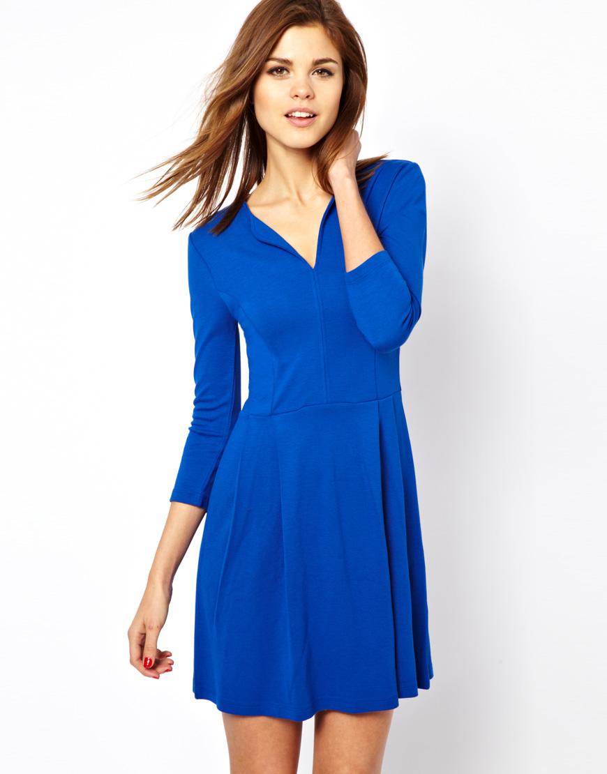 Long sleeve casual long dress