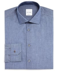 Paul Smith Chambray Slim Fit Dress Shirt