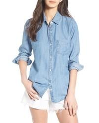 Ingrid chambray shirt medium 8752397