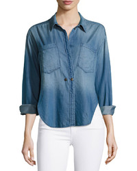 Mcguire hideaway chambray shirt legionnaire blue medium 1159228