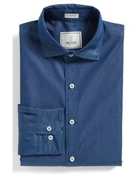 Todd Snyder White Label Trim Fit Solid Dress Shirt