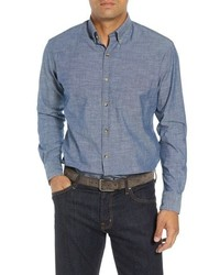 Peter Millar Blue Ridge Regular Fit Indigo Sport Shirt