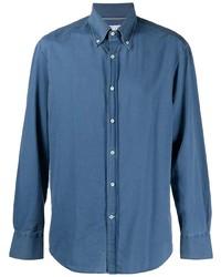 Brunello Cucinelli Button Down Denim Shirt