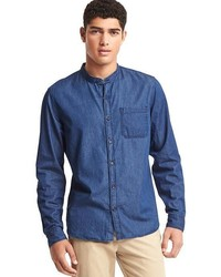 Gap Chambray Banded Shirt