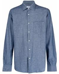 Aspesi Chambray Cotton Shirt