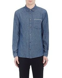 Marc by Marc Jacobs Chambray Shirt Blue Size Xs