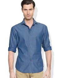 Ralph Lauren Black Label Chambray Sloan Shirt
