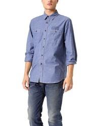 Coast Wide Bandana Print Chambray Shirt