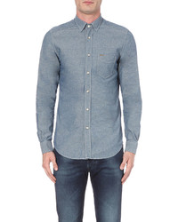 Diesel D Carry Slim Fit Chambray Shirt