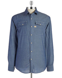 G Star G Star Raw Chambray Sportshirt