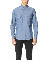 Gitman Brothers Gitman Vintage Chambray Western Shirt
