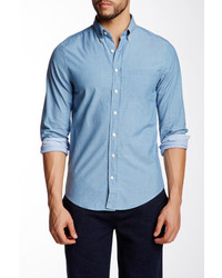 Gant Headline Chambray Long Sleeve Shirt